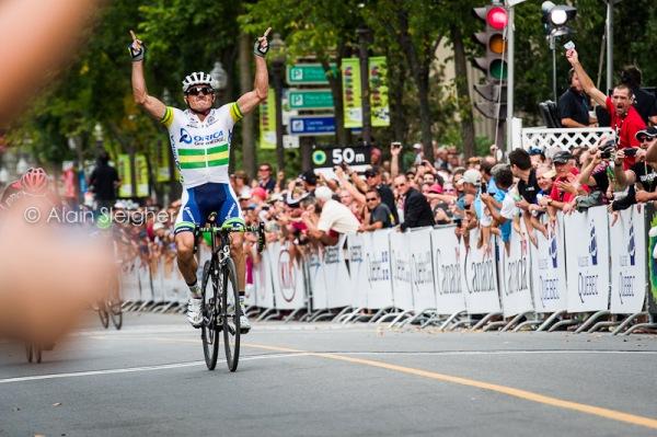 Grand Prix Cycliste de Québec Simon Gerrans arrivée