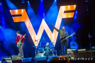 Weezer @Festival d'Été de Québec 2013