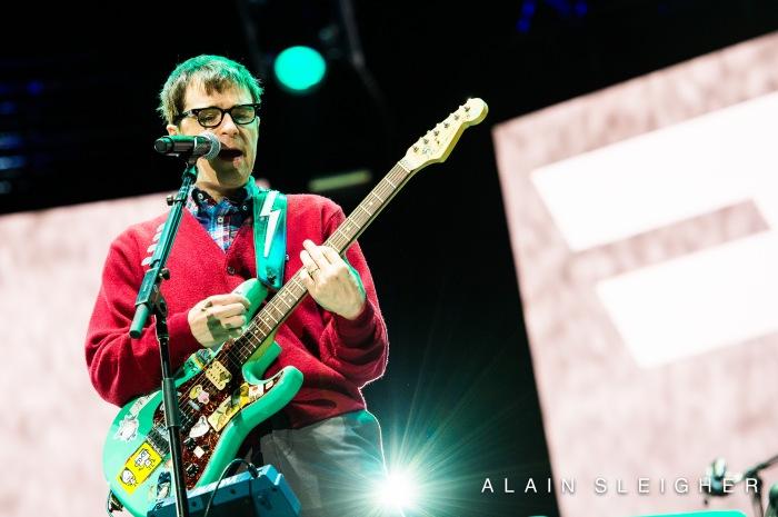 Rivers Cuomo from Weezer at the Festival d'Été de Québec