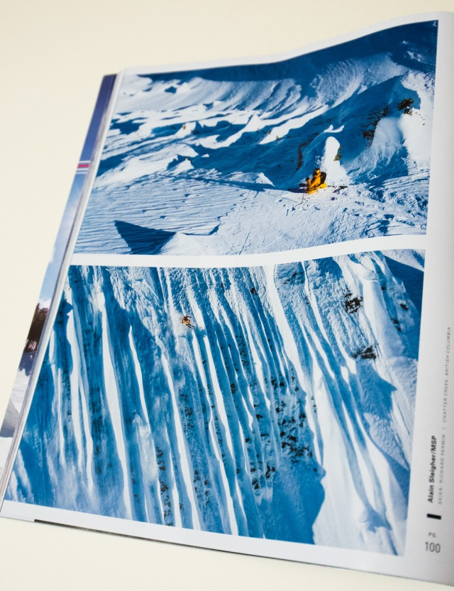 Richard Permin at Chatter Creek/ MSP Films - Days Of My Youth in the Powder Photo Annual 2013