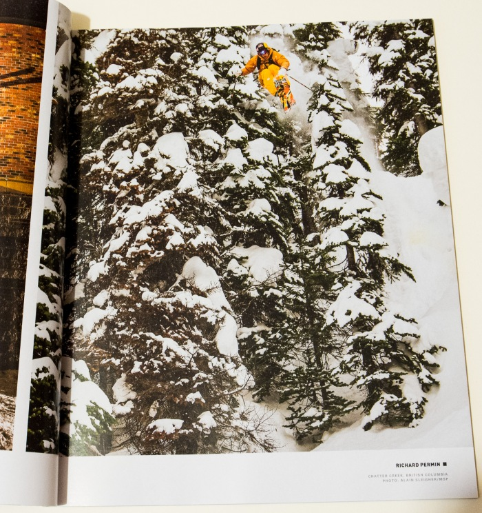 Richard Permin at Chatter Creek/ MSP Films - Days Of My Youth in the Powder September 2013 Issue