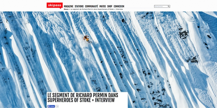 LE SEGMENT DE RICHARD PERMIN DANS SUPERHEROES OF STOKE INTERVIEW Screenshot